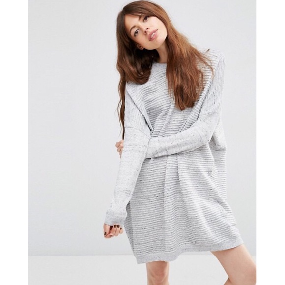 14a3aa81058 ASOS Dresses   Skirts - ASOS Sweater Dress In Ripple Stitch